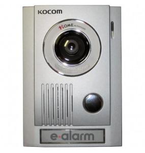 Μπουτονιέρα με έγχρωμη κάμερα εισόδου (μεταλλικού χρώματος) KOCOM KC MC32
