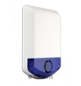 Ασύρματη Αμφίδρομη Εξωτερική σειρήνα με flash, 85dB Συχνότητα 868 Mhz DSC WT8911