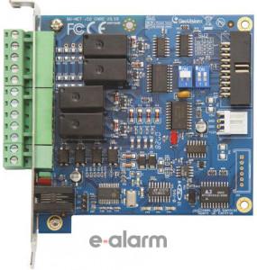 Κάρτα 4ων εισόδων και 4ων εξόδων relay GEOVISION GV NET/IO CARD