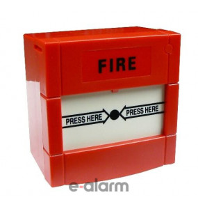Επανατάξιμο μπουτόν αναγγελείας φωτιάς HF 101