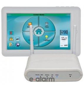 Ασύρματο tablet με πλαίσιο στήριξης, τροφοδοτικό και ασύρματο Access Point NAPCO IBR ITABKIT