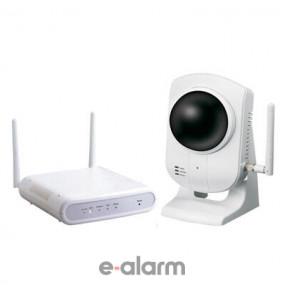 KIT ασύρματης IP κάμερας με μηχανισμό Pan/Tilt NAPCO ISVWLPTKIT2