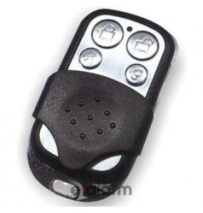 AΣΥΡΜΑΤΑ SET ΤΗΛΕΧΕΙΡΙΣΜΟΥ REMOTE CONTROLLER 2 BUTTON METAL AAS T100 2CH