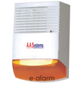 AAS 303 OR Εξωτερική σειρήνα με Flash AA SYSTEMS Εξωτερικές σειρήνες με πορτοκαλί φλας
