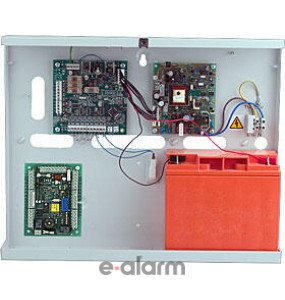 DCM WIEGAND w POWER SUPLY Μονάδα ελέγχου πόρτας σε μεταλλικό κουτί με τροφοδοτικό HONEYWELL C081