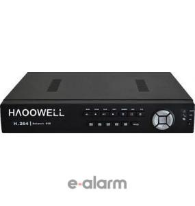 Αναλογικό HD σύστημα καταγραφής 4ων καναλιών, 1080P, 12fps HAOOWELL HW ADVR B104 MH