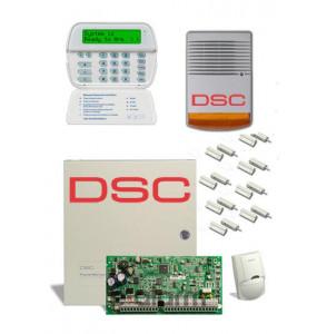 Ενσύρματος συναγερμός σπιτιού DSC