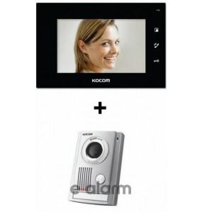Έγχρωμο Hands Free μόνιτορ 7'' TFT LCD DC type KOCOM KCVD 372 + KC MC32