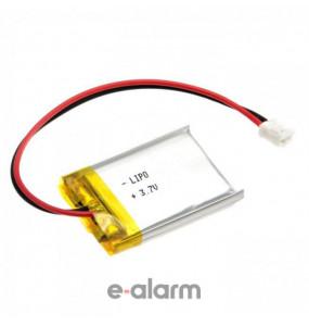 EUILP-402023 Επαναφορτιζόμενη Μπαταρία Λιθίου 3.7V 125 MAh Με PCM & Καλώδιο E-ALARM Μπαταρίες Λιθίου Για Πολλές Χρήσεις Υψηλής Ενέργειας