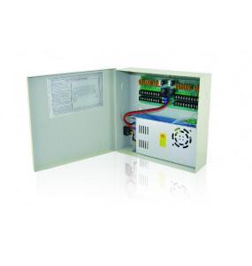 CP1218-20A Τροφοδοτικό καμερών σε μεταλλικό κουτί E-ALARM Τροφοδοτικά καμερών
