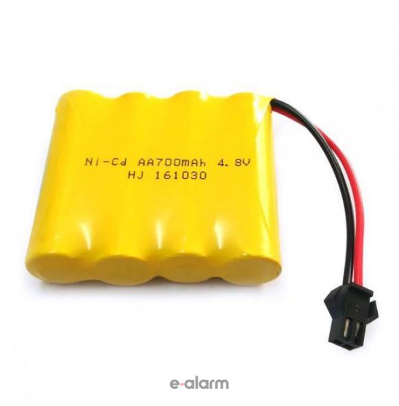 EUAAS70 Επαναφορτιζόμενη Μπαταρία AA 700 mAh NiCD E-ALARM Μπαταρίες Επαναφορτιζόμενες Για Πολλές Χρήσεις Και Μεγάλη Διάρκεια Ζωής