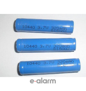EUIL10440J Mπαταρία Λιθίου Επαναφορτιζόμενη 320 mAh 3.7V χωρίς PCM GP BATTERIES Μπαταρίες Λιθίου Για Πολλές Χρήσεις Ελαφριά, υπερβολικής υψηλής ενέργειας