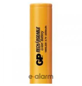 EUIL18650J Mπαταρία λιθίου επαναφορτιζόμενη 2200 mAh 3.7V χωρίς PCM GP BATTERIES Επαναφορτιζόμενες μπαταρίες λιθίου για πολλές χρήσεις