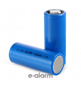 EUIL26650HC Mπαταρία Λιθίου 4500 mAh 3.7V με PCM High Cap GP BATTERIES Μπαταρίες Λιθίου Για Πολλές Χρήσεις Υπερβολικής Υψηλής Ενέργειας