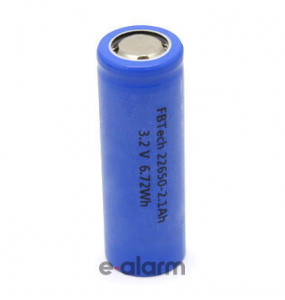 EUILIFE22650 Επαναφορτιζόμενη Μπαταρία Λιθίου 22650 3,2V 2100 mAh GP BATTERIES Μπαταρίες Επαναφορτιζόμενες Λιθίου Υψηλής Ποιότητας