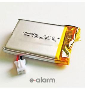 EUILP-503448 Επαναφορτιζόμενη Μπαταρία Λιθίου 3.7V 900 MAh Με PCM & Καλώδιο E-ALARM Μπαταρίες Επαναφορτιζόμενες Λιθίου Προσφέρουν Εξαιρετική Ενέργεια