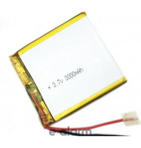 EUILP-5541631S2P Επαναφορτιζόμενη Μπαταρία Λιθίου 3.7V 3000 MAh Με PCM & Καλώδιο E-ALARM Μπαταρίες Επαναφορτιζόμενες Λιθίου Προσφέρουν Εξαιρετική Ενέργεια