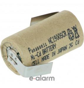 EUNC-1900SCR Επαναφορτιζόμενη Μπαταρία Sub-C 1900 mAh NiCD Panasonic Επαναφορτιζόμενες Μπαταρίες Ιδανικές Για Πολλές Χρήσεις Και Μεγάλη Διάρκεια Ζωής