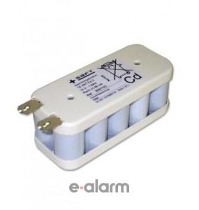 EURVRESC160012 Επαναφορτιζόμενη Μπαταρία PACK 14.4V 1600 mAh NiCD SAFT Μπαταρίες Επαναφορτιζόμενες Για Εργαλεία Και Άλλα