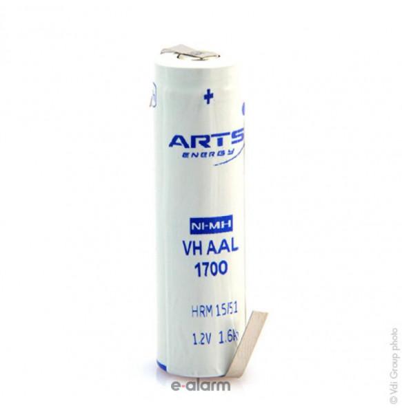 Saft Επαναφορτιζόμενη μπαταρία Arts VH AA 1700mAh NiMH EUVHAA1700 Μπαταρίες Επαναφορτιζόμενες Ιδανικές Για Πολλές Χρήσεις