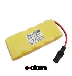 EUVRESC16005 Επαναφορτιζόμενη Μπαταρία PACK 6V 1600 mAh Sub-C NiCD E-ALARM Μπαταρίες Επαναφορτιζόμενες Για Σκουπάκια