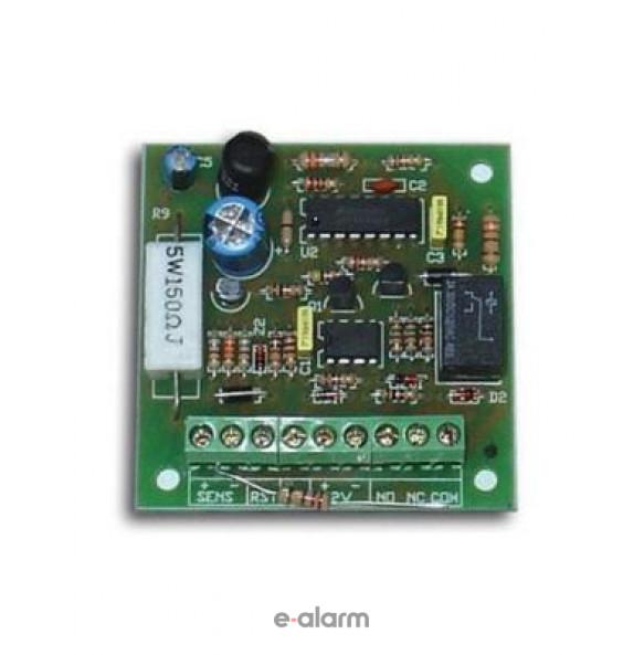 FSA Πλακέτα για τη λειτουργία πυρανιχνευτών 24VDC με όλους τους πίνακες συναγερμού Sigma Security Πλακέτες πυρανιχνευτών