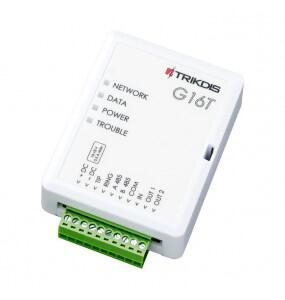 G16T Συσκευή επικοινωνίας για μετάδοση σημάτων συναγερμού TRIKDIS Συσκευές επικοινωνίας για μετάδοση σημάτων συναγερμού