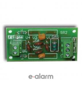 LDP-01 Πλακέτα για την προστασία τηλεφωνητών από κεραυνούς Sigma Security Πλακέτες για προστασία από κεραυνούς