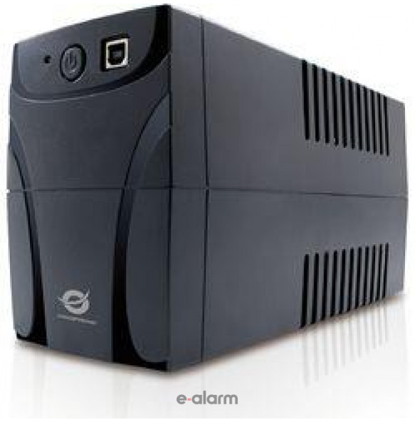PC615N/650VA Ups τύπου Line Interactive με αυτονομία έως 15 λεπτά E-ALARM Ups τύπου Line Interactive