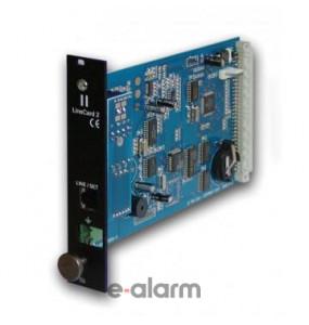 R-81LC Κάρτα μίας γραμμής PSTN για τον δέκτη DR-81000 Sigma Security Κάρτες μίας γραμμής PSTN