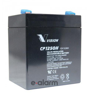Μπαταρία συναγερμού κεντρικής μονάδας 12V 5Ah VISION EUCP5-12