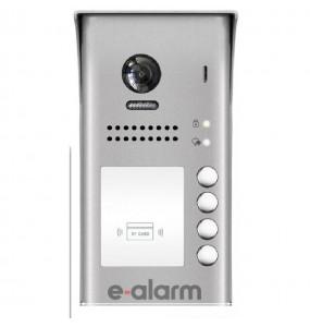 e-alarm.gr  Μπουτονιέρα θυροτηλεόρασης 1 κλήσης AAS702 1D