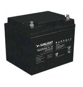 Μπαταρία Φωτοβολταϊκών 12V 40 Ah SunLight AccuForce 12-40AH S ιδανική για εφαρμογές βαρέως τύπου