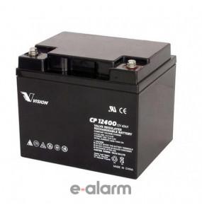 Μπαταρία μολύβδου 12V 42Ah VISION EUCP40-12