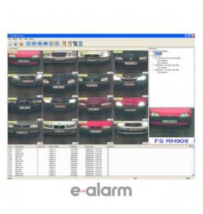 Λογισμικό για 8 κάμερες GEOVISION 8 Cam LPR