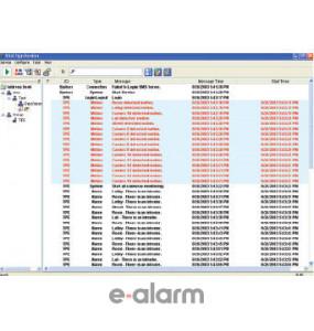 Πρόγραμμα αποστολής μηνυμάτων σε μορφή κειμένου GEOVISION GV VITAL SIGN MONITOR