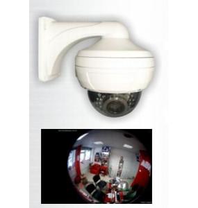 360° IP Fisheye κάμερα οροφής 5MP με βάση και PoE HAOOWELL HW FE30A 50TPB