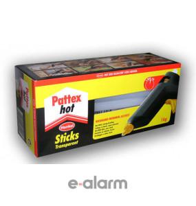 Διαφανής κόλλα σιλικόνης συσκευασίας κιλού Γερμανίας Pattex PAT 100