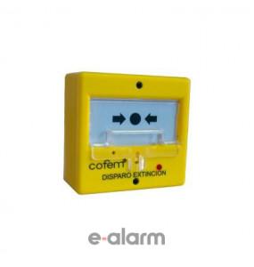 Μπουτόν φωτιάς (έναρξη – EXTINTION) COFEM PUC DR