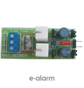 Αντικεραυνική προστασία και φίλτρο ADSL SL TLINE