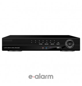 DVR/NVR/HVR όλα σε ένα σύστημα καταγραφής 16 καναλιών 2D1 + 14CIF WODSEE WS ND16
